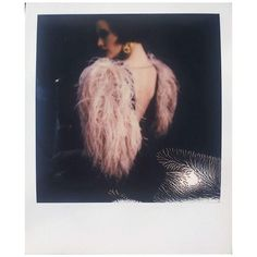 My #beautiful #dress by @emilysoto #etiennejeanson #couture #paris #france #feathers #model #outfit #ootd #luxe #fashion #art #stylist @gogotoure #polaroid