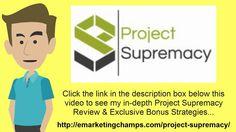 https://www.youtube.com/watch?v=WVCgkjNjbG0 Project Supremacy Review