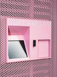 An ATM that stores your biz contacts, emails, pictures automatically with your badge Serpentina, Experiential Marketing, Guerilla Marketing, Vending Machine, Visual Merchandising, Event Design, Color Inspiration, Pretty In Pink, Cool Stuff