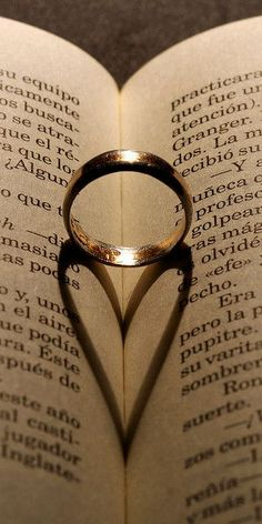 Shadows can be twee too.    The only thing I would change, is that I would put the wedding ring in a Bible.