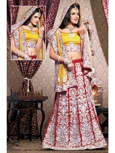 Evoking Combination Wedding Lehenga. Item code: GHL1520A