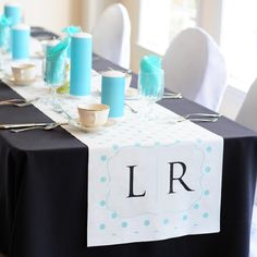 Polka Dot Decorative Table Runners $51