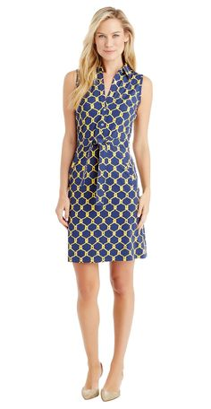 J.McLaughlin - Dolly Shirtdress in Gold Rope