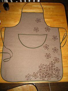 grandma's apron by gillian., via Flickr