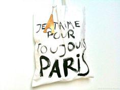 Je T'Aime Paris TOTE Bag / Eve Damon