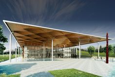 Tribal Parliament - Monk Mackenzie Architects