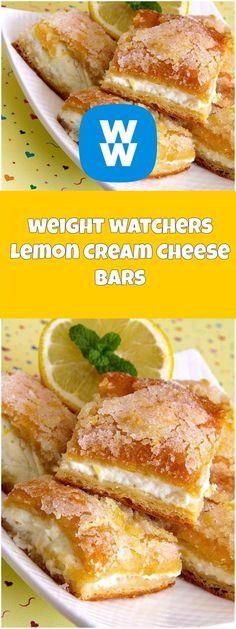 Lemonllon Cream Cheese Bars   weight watchers recipes   Page 2