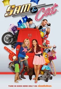 Sam & Cat - To earn cash, roommates Sam and Cat start a babysitting service -- and quickly discover just what an adventure babysitting can be. Nickelodeon Shows, Nickelodeon Cartoons, Sam And Cat, Nick Tv Shows, Icarly And Victorious, Jenette Mccurdy, Childhood Tv Shows, Ariana Grande Pictures, Cat Posters