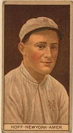 1912 Brown Backgrounds T207 #82 Chester Hoff Front