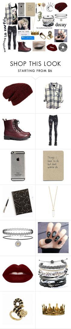 """""""Hey guys..."""" by muchband ❤ liked on Polyvore featuring Topshop, Rails, H&M, GaÃ«lle Bonheur, Forever 21, Lime Crime, Old Navy, ESPRIT, Domo Beads and ZENTS"""