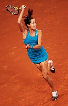 #AnaIvanovic played a very powerful #tennis