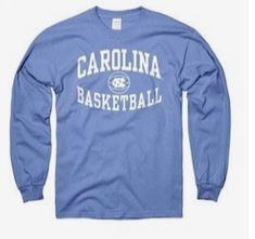 timeless design a33ac b8453 North Carolina Tar Heels New Agenda Reversal Basketball Long Sleeve T-Shirt