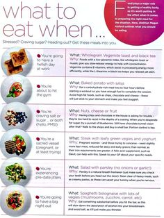 what to eat when ... craving sugar, stressed