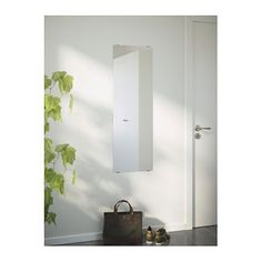 IKEA MINDE mirror Can be hung horizontally or vertically.