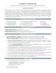 Attorney Resume Templates Sample Lawyer Resumes Samples Free Examples