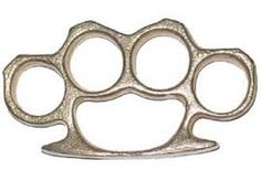 Brass knuckles are a close combat weapon that were invented to create a bigger and stronger surface area for someones punch. They were also created to break bones and rip flesh very easily. (Ryan and Liam)