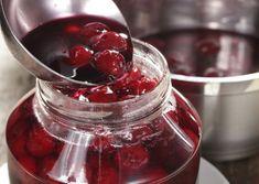 Magozott meggy télire - Egészségséfünk receptje Cerise Fruit, 20 Min, Chocolate Fondue, Raspberry, Diy And Crafts, Food And Drink, Cocktails, Sweets, Cooking