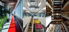 Bonkers offices tend to spring up like so many expensive mushrooms during boom time, especially in the tech world. But it turns out that average companies are investing in great design too—at least according to the shortlist of great offices chosen by the World Festival of Interiors this year.