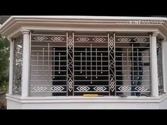 Steel Grill Design, Home Window Grill Design, Steel Railing Design, Grill Gate Design, Balcony Grill Design, Balcony Railing Design, Home Stairs Design, Iron Window Grill, Wall Railing