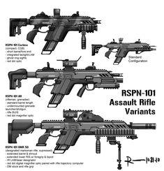 ArtStation - R101-C Assault Rifle, Ryan Lastimosa