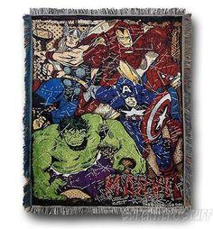 Marvel Heroes Comic Action Rug