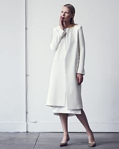 Protagonist  - Collarless Long Jacket S/S 2015