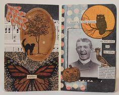 Bluebird Paperie: Macabre Glue Book Page