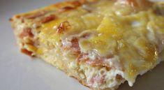 Υλικά 1 μεγάλο ψωμί για τόστ χωρίς κόρα (αλλιώς θα την αφαιρέσετε με μαχαίρι) 1/2 βιτάμ 1 κιλό περίπου κίτρινα τυριά τριμμένα 16 φέτες μπέικον ψιλοκομμένες [ή 8 φέτες ζαμπόν της αρεσκείας σας] 1 λίτρο γάλα 8 αυγά Εκτέλεση Aλείφουμε βούτυρο ένα μεγάλο ορθογώνιο πυρέξ στον πάτο και τα τοιχώματα. Σωτάρετε ελαφρά το μπέϊκον και [...] Breakfast And Brunch, Breakfast Dishes, Breakfast Casserole, Breakfast Recipes, Amish Recipes, Ww Recipes, Cooking Recipes, Bacon Recipes, Delicious Recipes