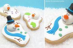 Christmas Cookies Snowman