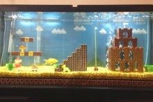 DIY-Super-Mario-Aquarium-Decor
