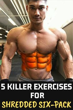 5 Killer Exercises for a Shredded SixPack Link in description! Fitness AbsProgram bodybuilding Abs Sixpack Workout is part of Dumbell workout abs - Dumbell Workout Abs, 6 Pack Abs Workout, Abs Workout Routines, Six Pack Abs, Abs Workout For Women, Ripped Workout, Workout Tips, Hiit Abs, Workout Challenge