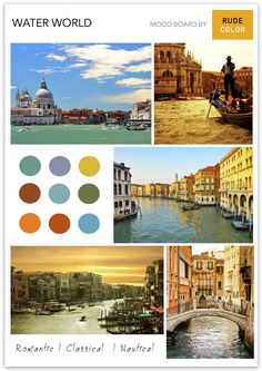 One of Europe's most romantic cities, Venice is renowned for its canals, the beautiful architecture and its history. Pictures Of Venice, Beautiful Architecture, Most Romantic, Cities, Beautiful Pictures, Web Design, Palette, Europe, Culture
