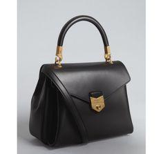 Yves Saint Laurent black leather 'Purely' crossbody bag