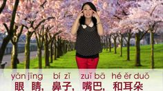 """Learn """"Head, Shoulders, Knees, and Toes"""" in Mandarin Chinese!"""