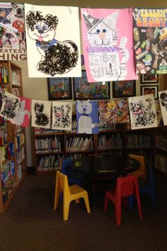 "It's ""raining cats and dogs"" at the Ione Branch! July 2014."