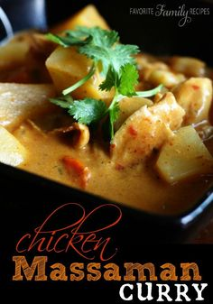 of my FAVORITE curry dishes. If you haven't tried making Thai curry ...