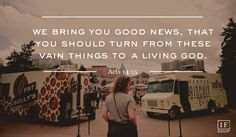 [Day Thirty-Seven] Acts 14:8-18, Paul & Barnabas In Lystra and Derbe