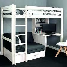 High Sleeper Bed with Desk and sofa Bed . High Sleeper Bed with Desk and sofa Bed . High Sleeper Bed Frame Fixed Desk Corner Cushions Grey Bunk Bed With Desk, Cool Bunk Beds, Kid Beds, Desk Bed, Loft Bed With Couch, Teen Bunk Beds, Lofted Beds, Chair Bed, White Loft Bed