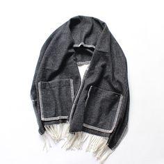 maillot Wool Herringbone Blanket MAA-029
