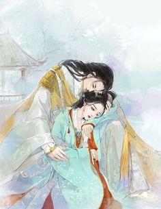 浪漫情侣古风图片,高清唯美古风图集 Drawings Of Love Couples, Animated Man, Chinese Artwork, Fantasy Couples, Chinese Cartoon, Cartoon Fan, Anime Love Couple, Couple Art, Pretty Anime Girl