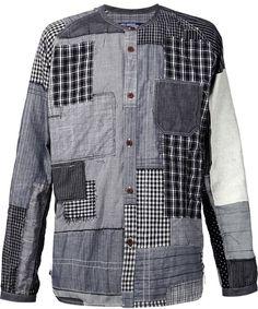 Junya Watanabe Comme Des Garçons Man patchwork shirt