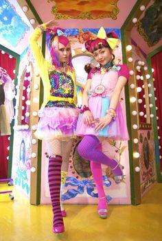 Harajuku fashion. LOVE this shoot!