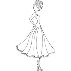 Doll With Swing Dress Mixed Media Doll Cling Rubber Stamp Prima Marketing Prima Doll Stamps, Digi Stamps, Scrapbook Online, Scrapbook Layouts, Scrapbooking Pas Cher, Creation Art, Prima Marketing, Copics, Clear Stamps