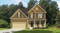 Home Plan HOMEPW77059 - 2197 Square Foot, 3 Bedroom 2 Bathroom Country Home with 2 Garage Bays | Homeplans.com