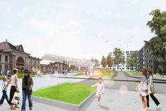 Das Band meiner Stadt (The Band of My City) Winning Proposal / da architecture