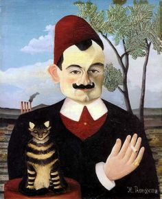 Pierre loti par henri rousseau - Henri Rousseau - Wikipedia, the free encyclopedia