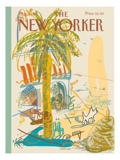 The New Yorker Cover - August 7, 1995 Poster Print by Javier Mariscal at the Condé Nast Collection