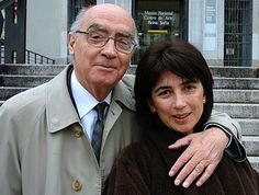 Pilar del Rio y Jose Saramago