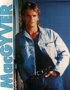 Richard Dean Anderson = MacGyver   One degree In Toronto, 2013, I met a First Nations Shaman who knew Richard Dean Anderson. She also happened to have duct tape with her and posed with it.
