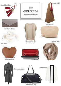 The Sophisticated Woman's Gift Guide is the easy way to buy the lady in your life a gift for the holidays. Stress free shopping is the way to go!